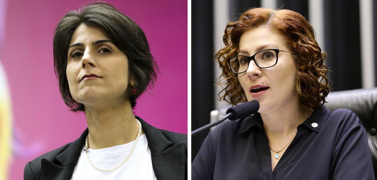 Manuela D'Ávila e Carla Zambelli