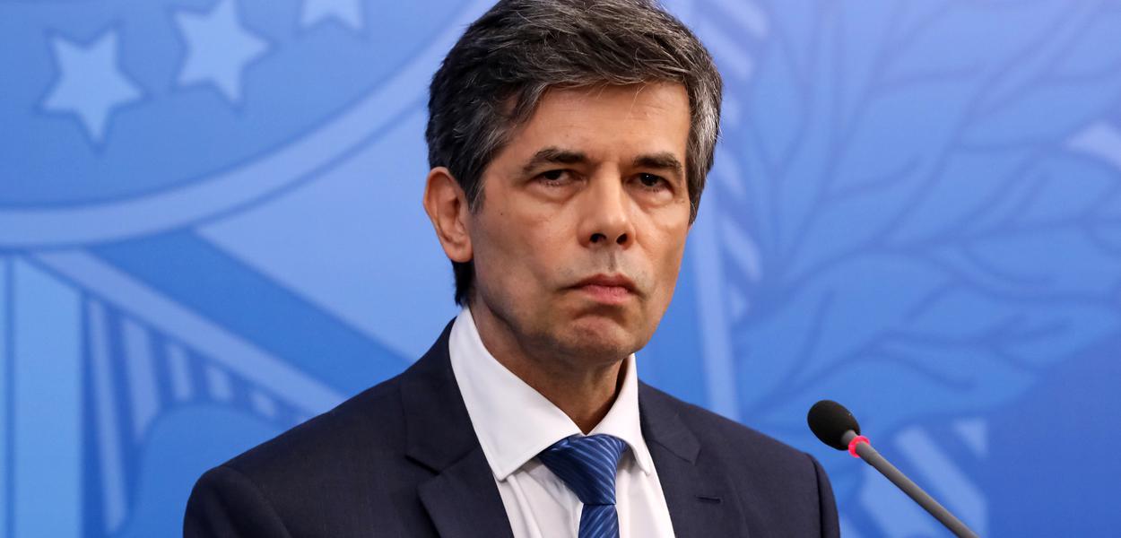 (Brasília - DF, 23/04/2020) Palavras do Ministro da Saúde, Nelson Teich.
