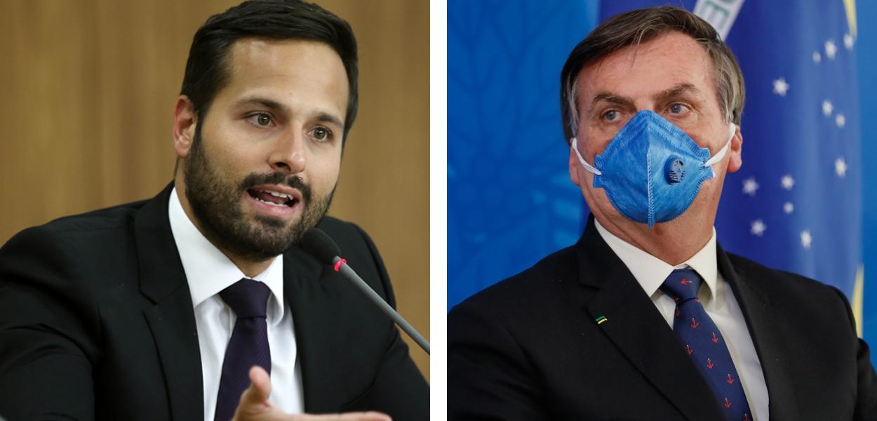 Marcelo Calero e Jair Bolsonaro