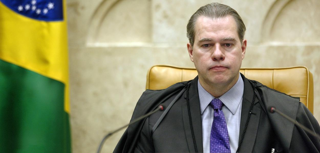 Ministro Dias Toffoli presidente do STF