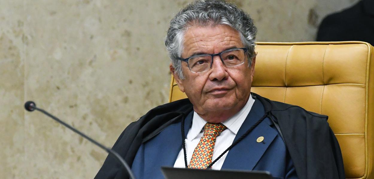 Ministro Marco Aurélio durante sessão extraordinária do STF. (04/03/2020)