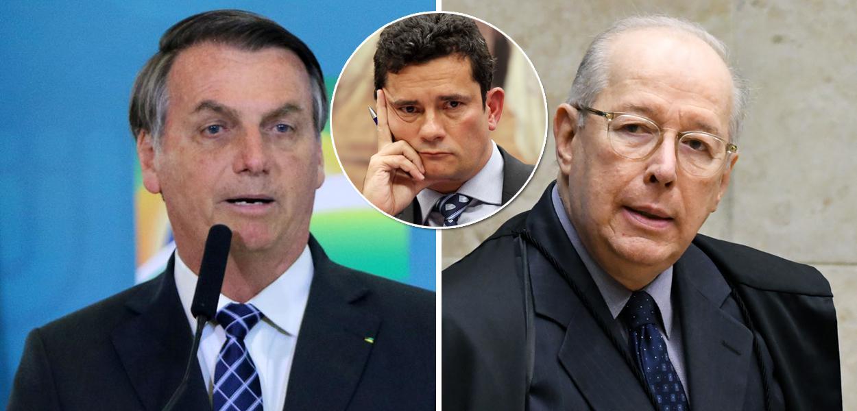 Jair Bolsonaro, Sergio Moro e Celso de Mello