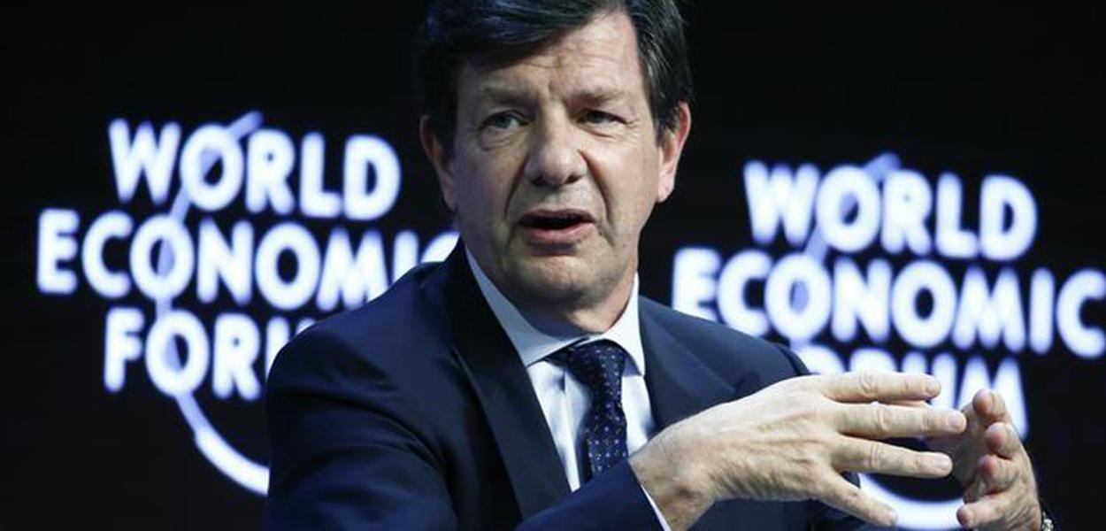 """Em foto de arquivo, Roberto Egydio Setubal, presidente do Itau Unibanco, participa da sessão final do evento """"The Global Agenda 2015"""" em Davos, na Suíça 24/01/2015"""