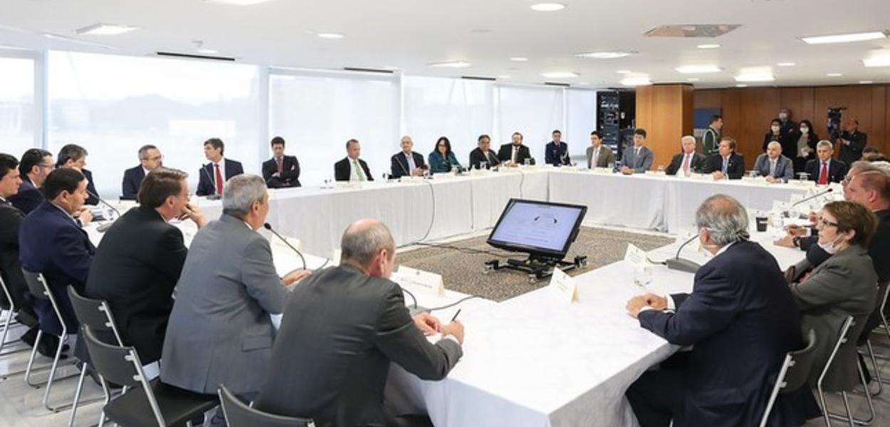 Reunião do Ministério citada por Sergio Moro em depoimento à PF