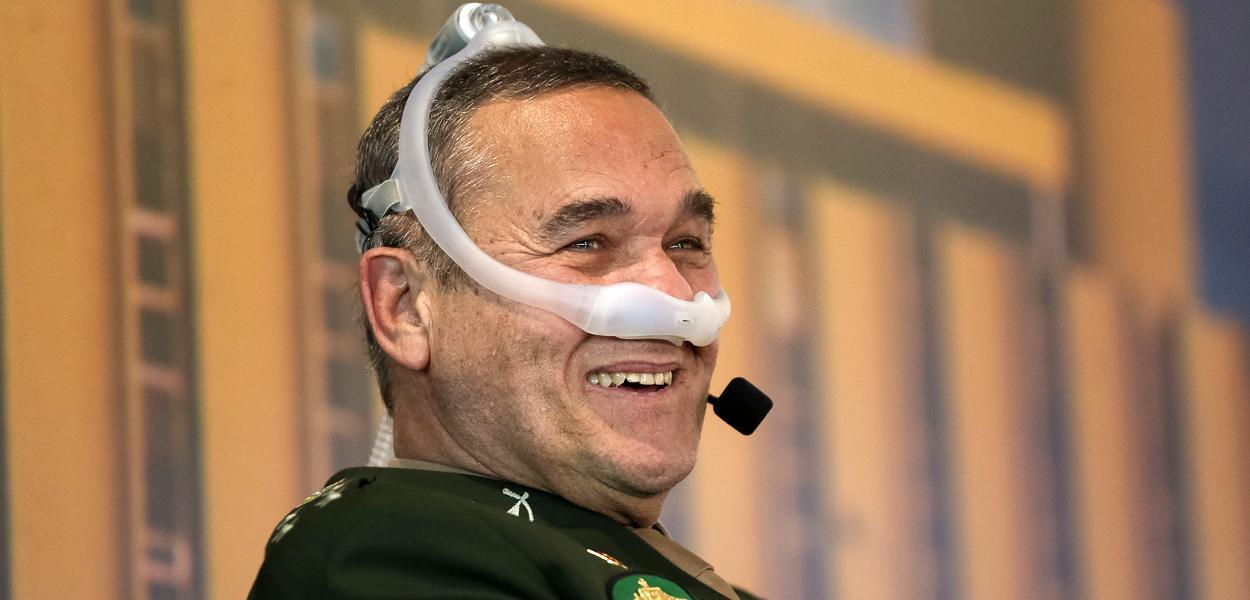 (Brasília - DF, 13/12/2018) Palavras do Comandante do Exército, General-de-Exército Eduardo Villas Bôas.