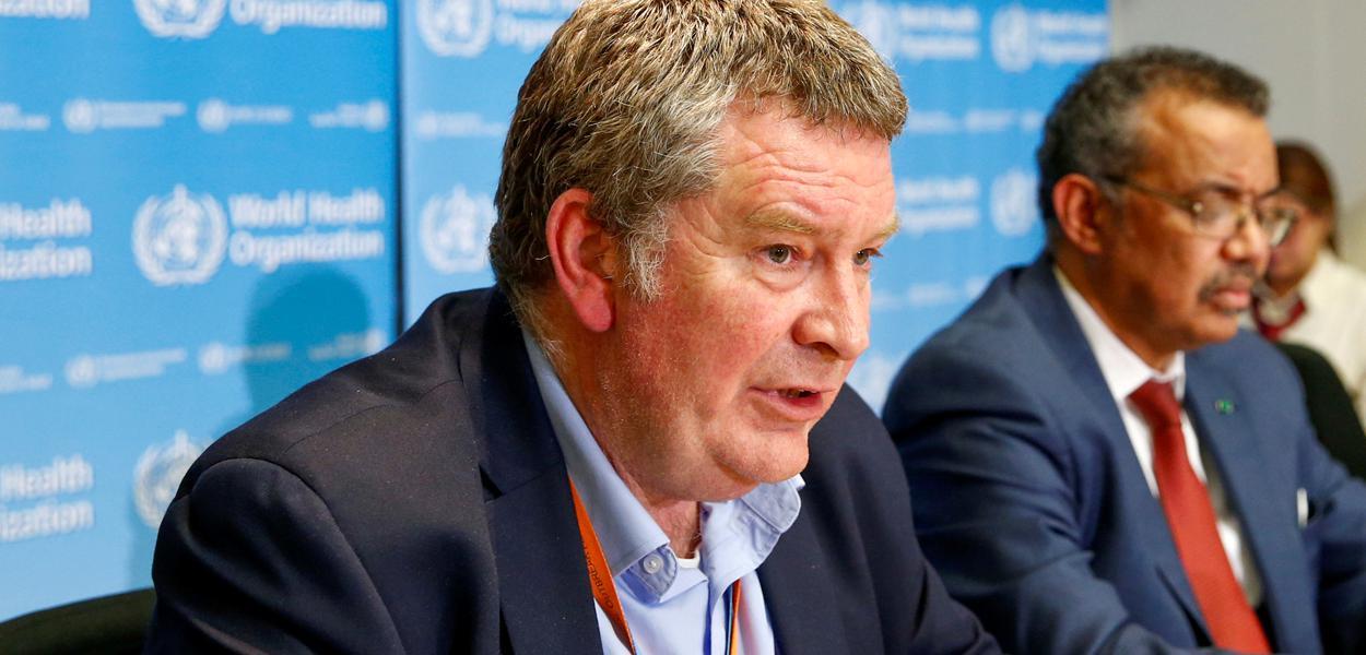 Mike Ryan, especialista de emergências sanitárias da Organização Mundial da Saúde (OMS) 06/02/2020