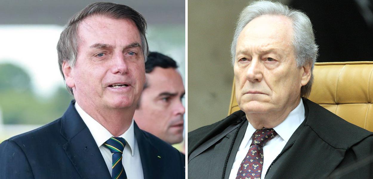 Jair Bolsonaro e Ricardo Lewandowski