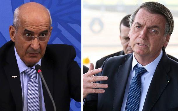 General Luiz Eduardo Ramos, da Secretaria do Governo, e Jair Bolsonaro
