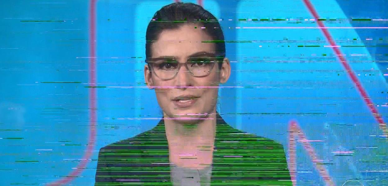 Durante a abertura, Jornal Nacional teve falas no áudio e vídeo