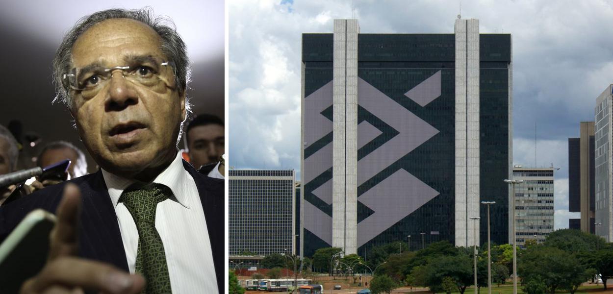 Paulo Guedes e Banco do Brasil