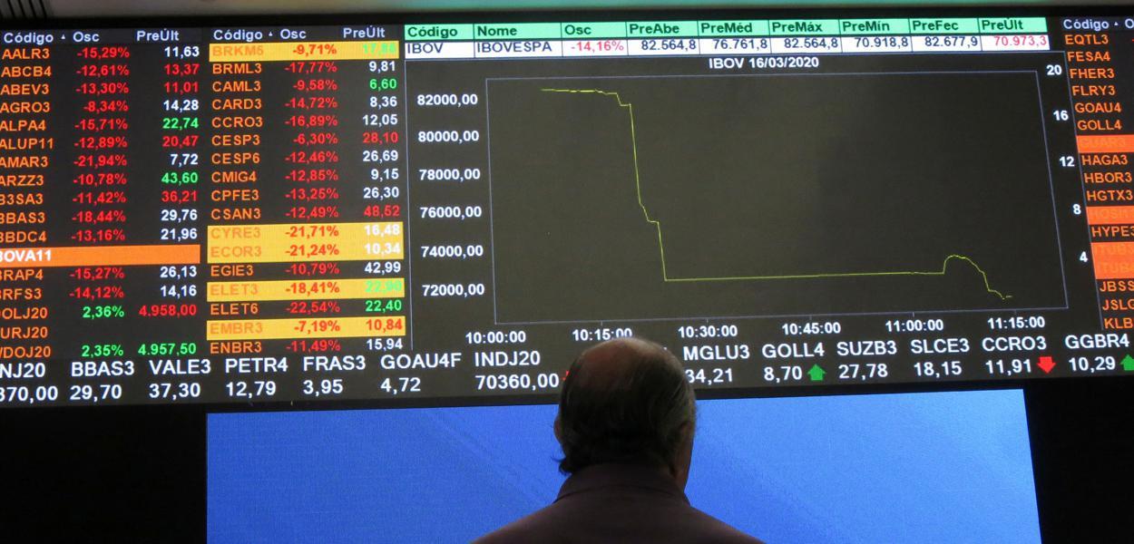 Ibovespa avança puxado por bancos e Petrobras e mira 83 mil pontos