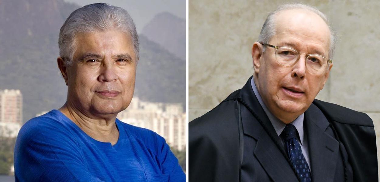Ricardo Noblat e Celso de Mello