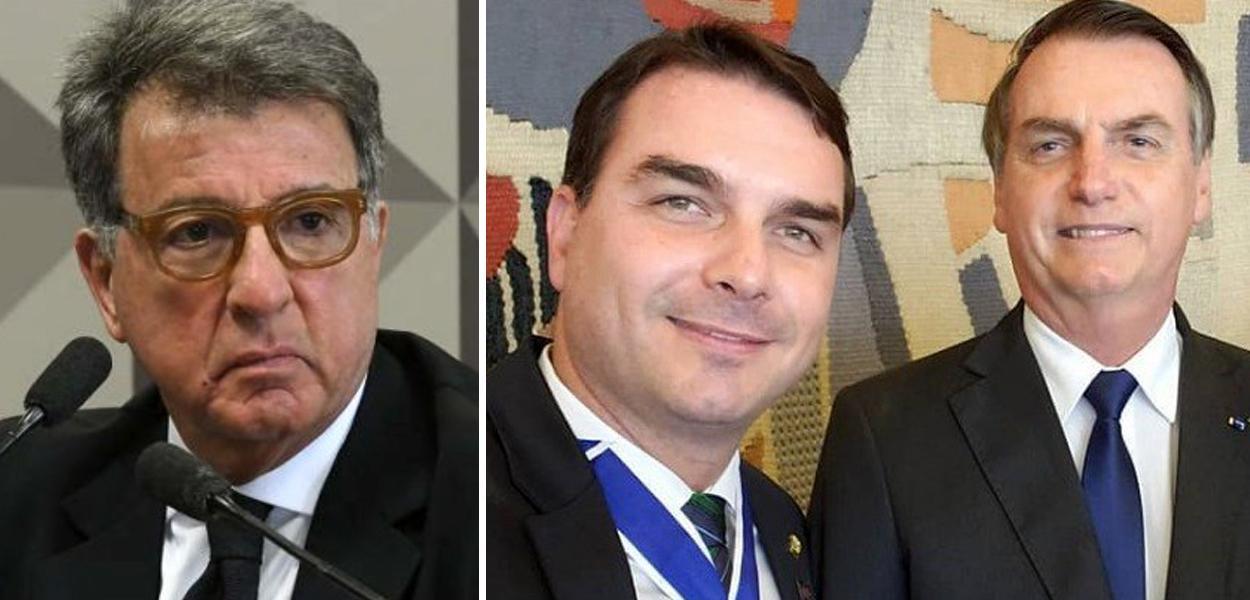 Paulo Marinho, Flávio Bolsonaro e Jair Bolsonaro
