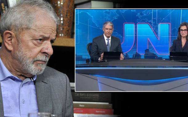 Lula, William Bonner e Renata Vasconcellos