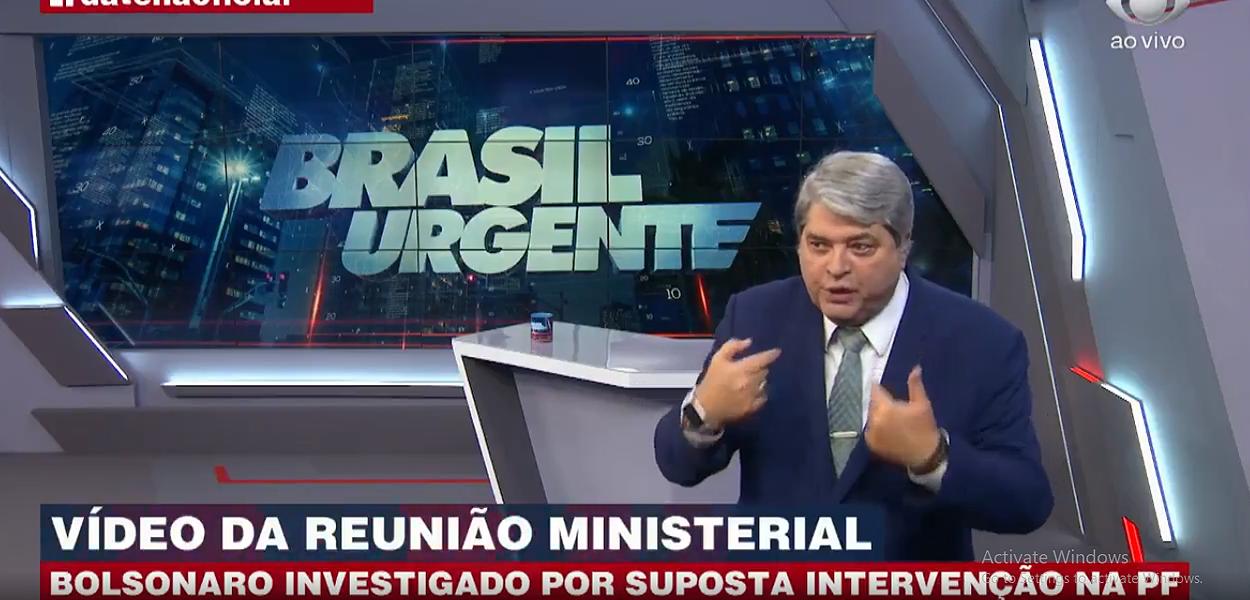 Apresentador José Luiz Datena sofre infarto em São Paulo