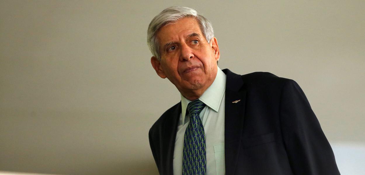 Ministro do Gabinete de Segurança Institucional, Augusto Heleno, em Brasília 04/03/2020