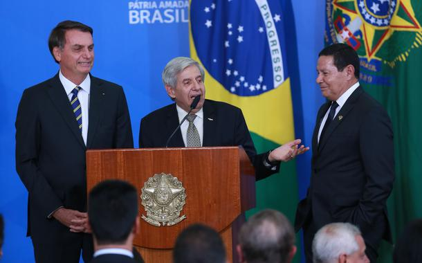 Jair Bolsonaro,  Augusto Heleno e