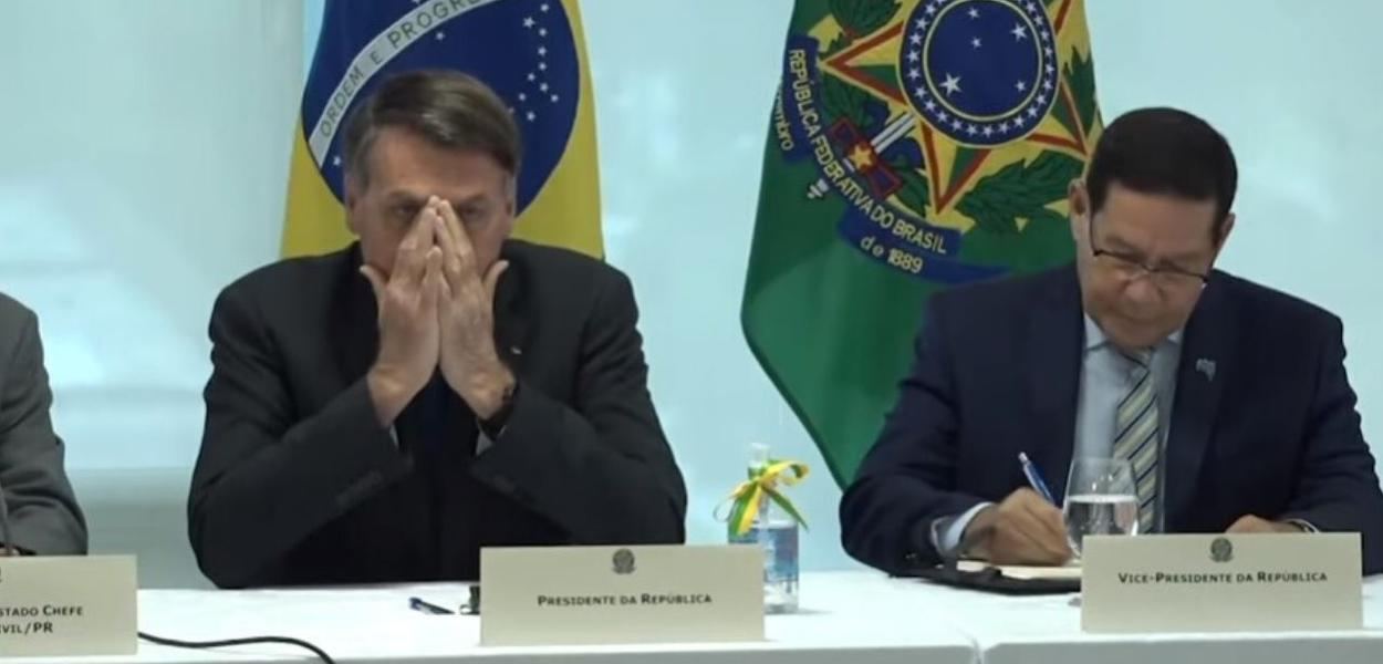 Bolsonaro reuniao