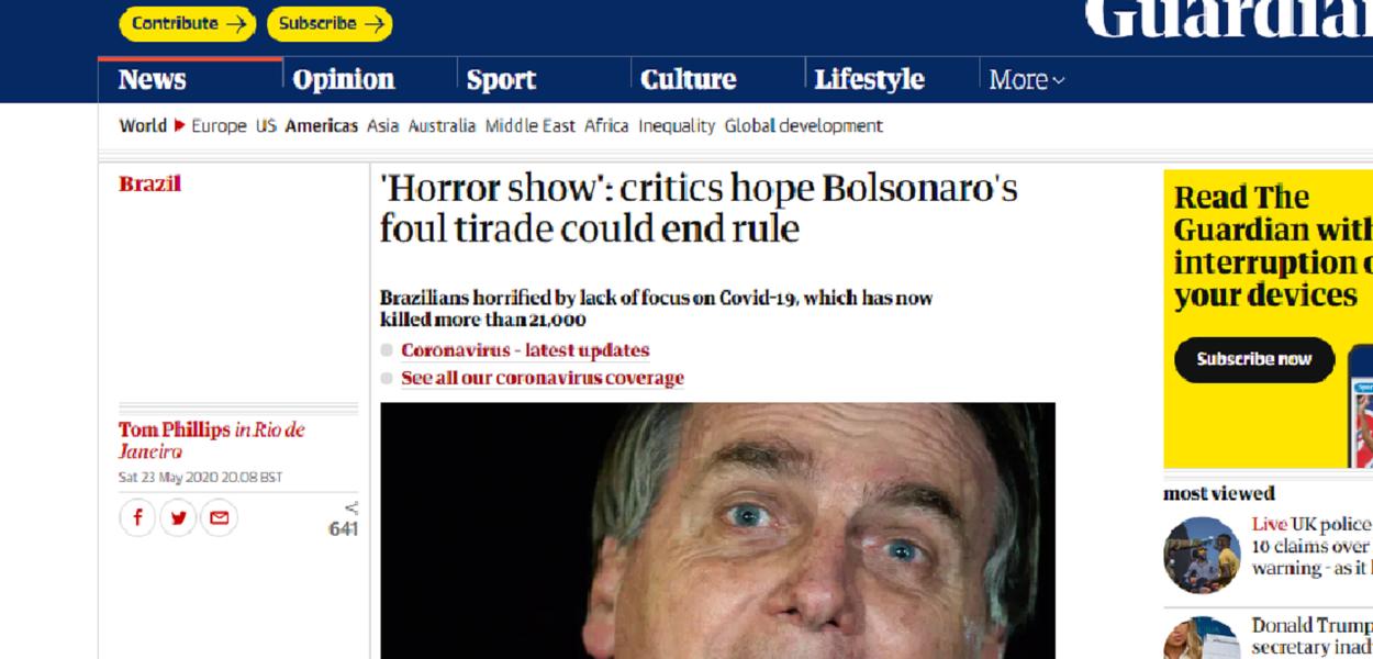 Bolsonaro The Guardian