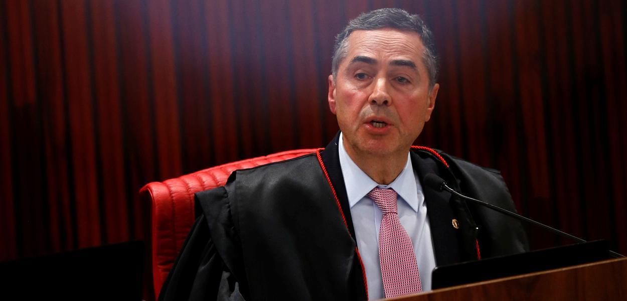 Presidente do TSE e ministro do STF Luís Roberto Barroso