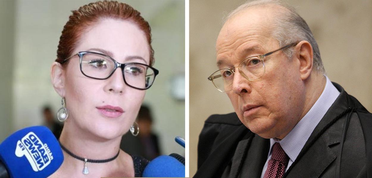 Carla Zambelli e Celso de Mello