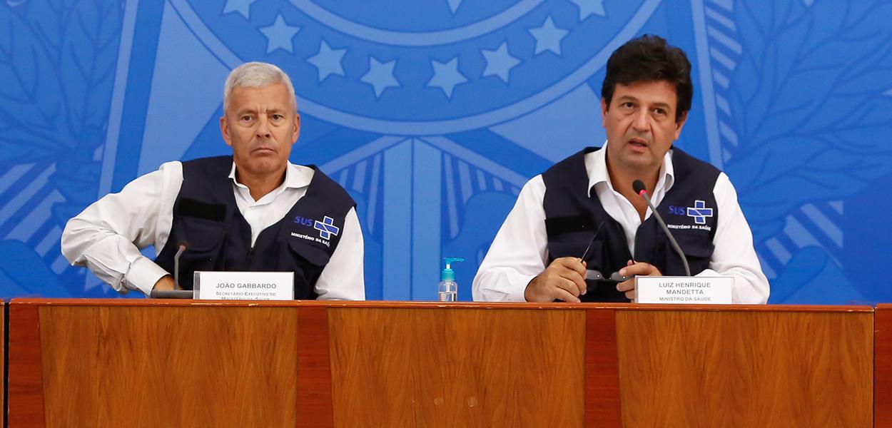 João Gabbardo dos Reis e Luiz Henrique Mandetta