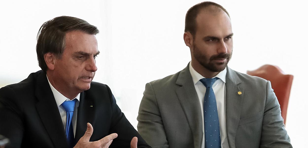 Jair e Eduardo Bolsonaro