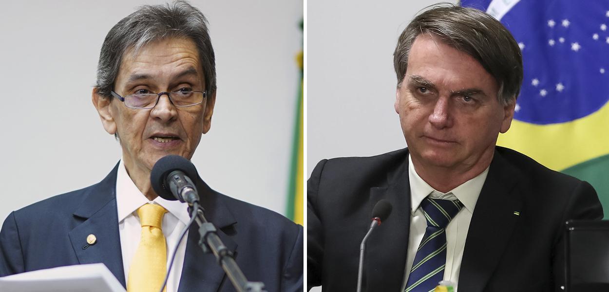Roberto Jefferson e Jair Bolsonaro