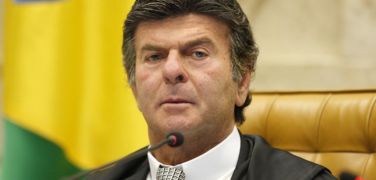 Ministro Luiz Fux preside sessão plenária por videoconferência do STF.  (28/05/2020)