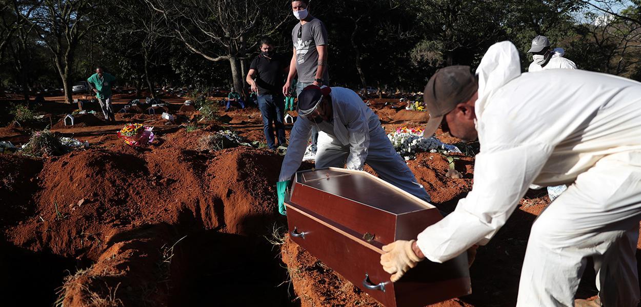 Brasil é o segundo país em número de mortes por Covid-19