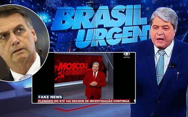 Datena, brasil urgente, noticias politica, bolsonaro