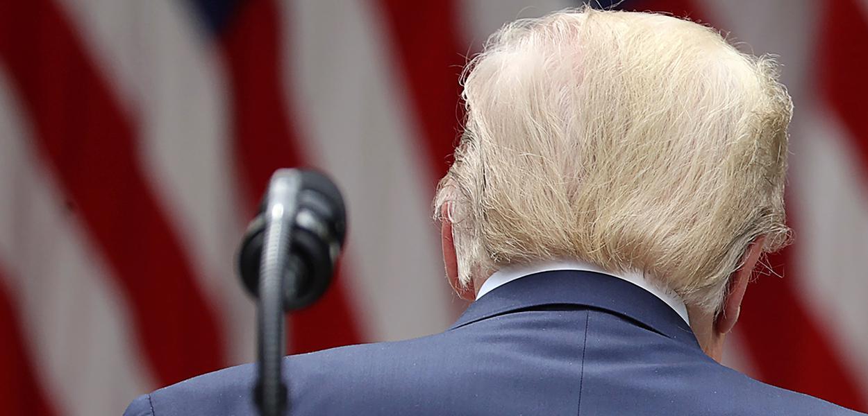 Presidente dos EUA, Donald Trump 29/05/2020