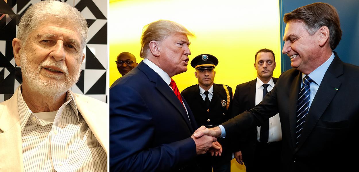 Celso Amorim, Donald Trump e Jair Bolsonaro