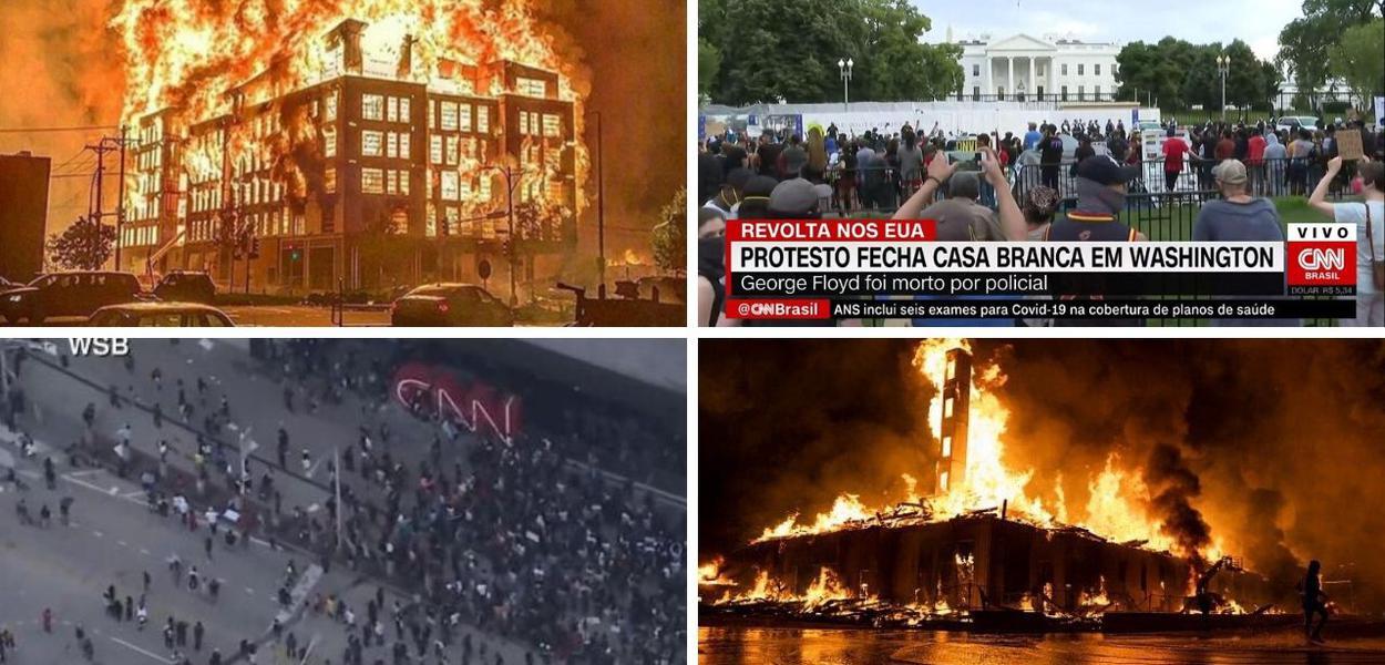 EUA protestos