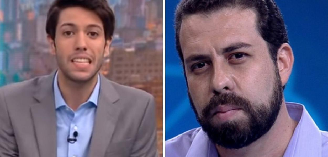 Caio Coppola e Guilherme Boulos