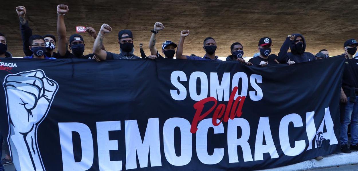 Atos contra o fascismo bolsonarista e em defesa da democracia ...
