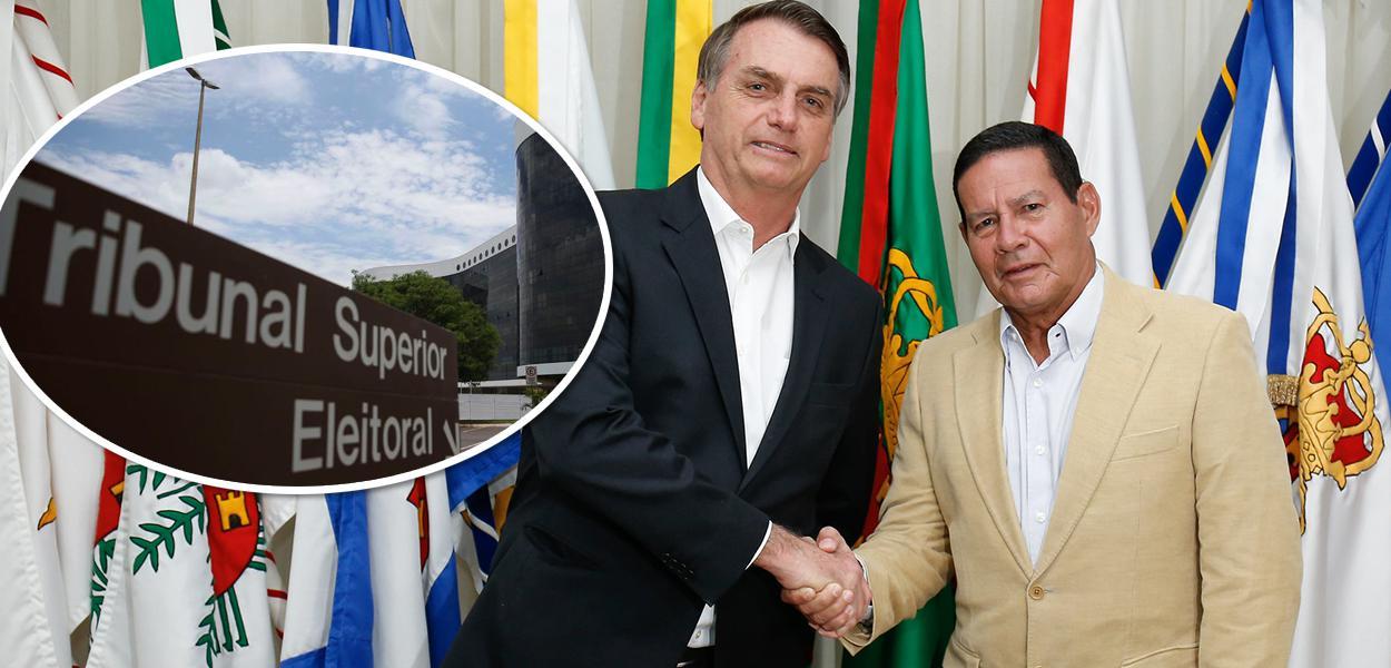 TSE, Bolsonaro e Mourão