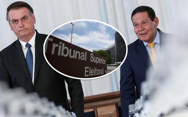 Bolsonaro, TSE e Mourão