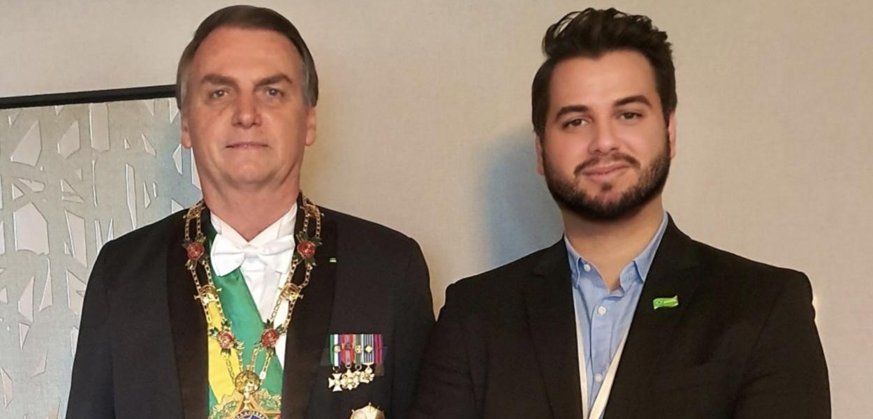 Jair Bolsonaro e Filipe Martins