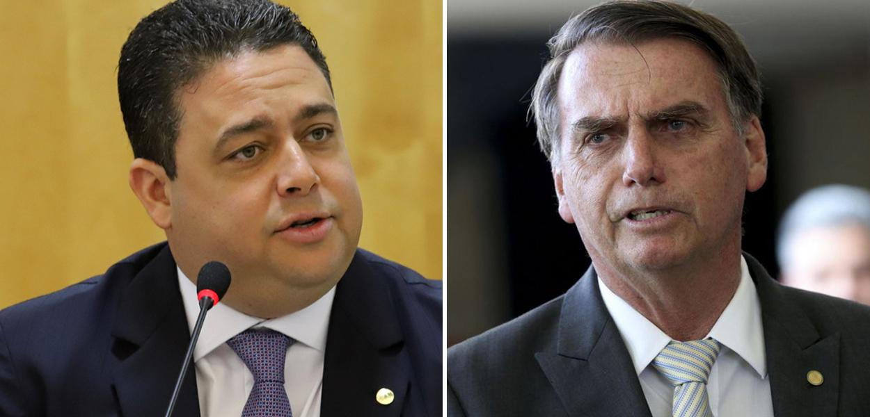 Presidente da OAB, Felipe Santa Cruz, e Jair Bolsonaro