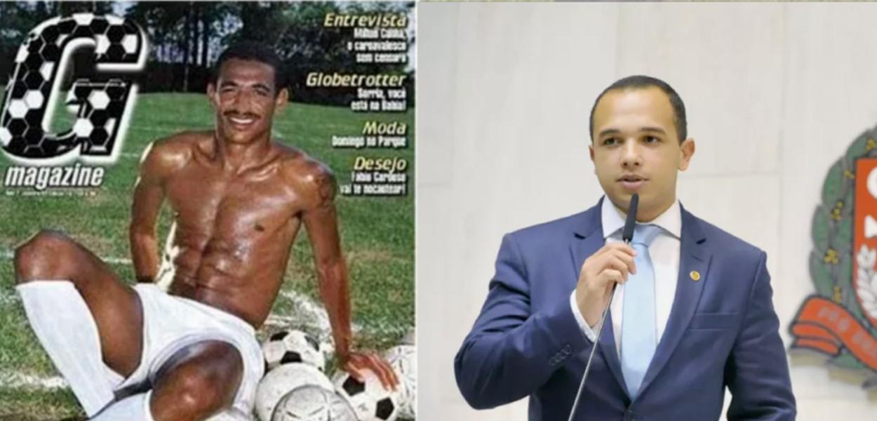 Vampeta e Douglas Garcia