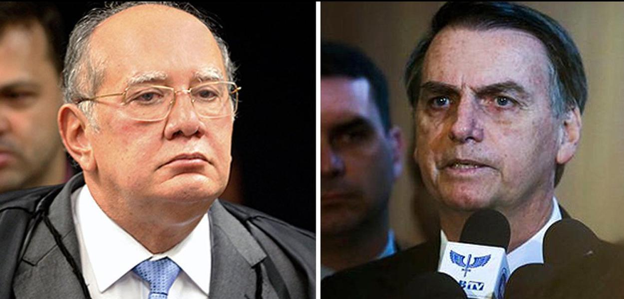 Gilmar Mendes / Jair Bolsonaro