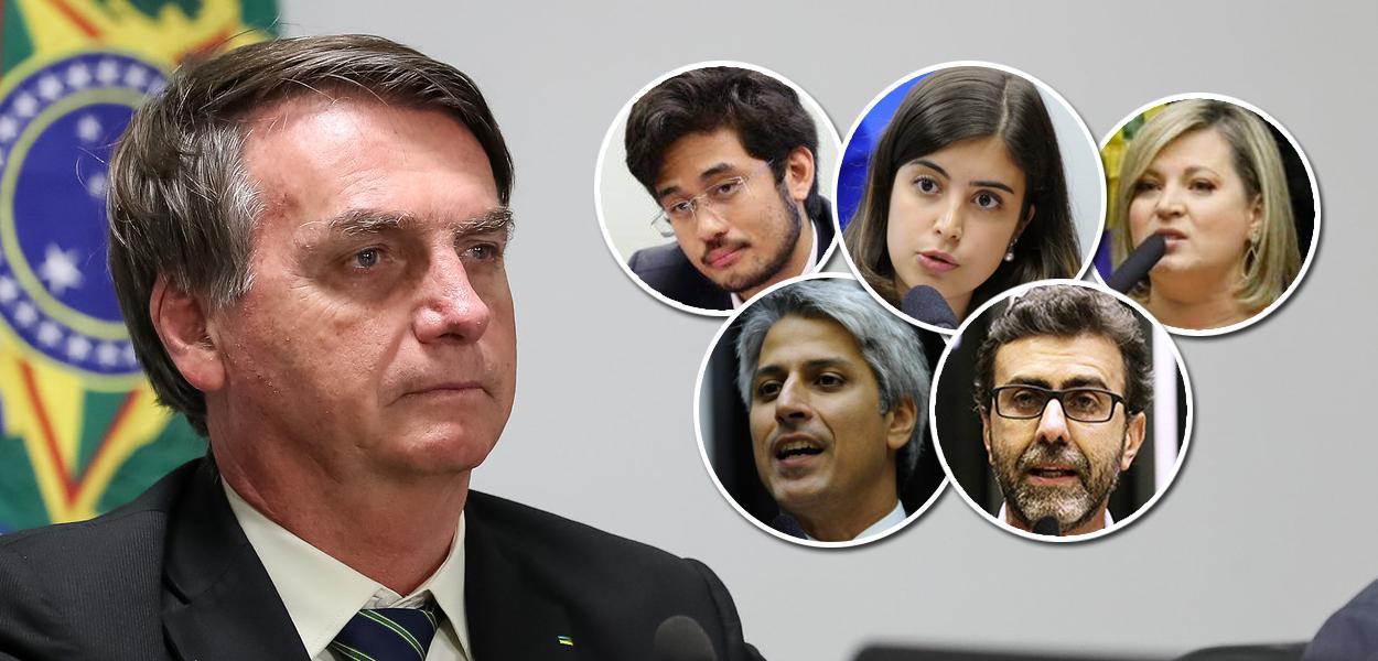 Kim, Joice, Freixo, Molon e Tabata criam grupo de oposição a ...