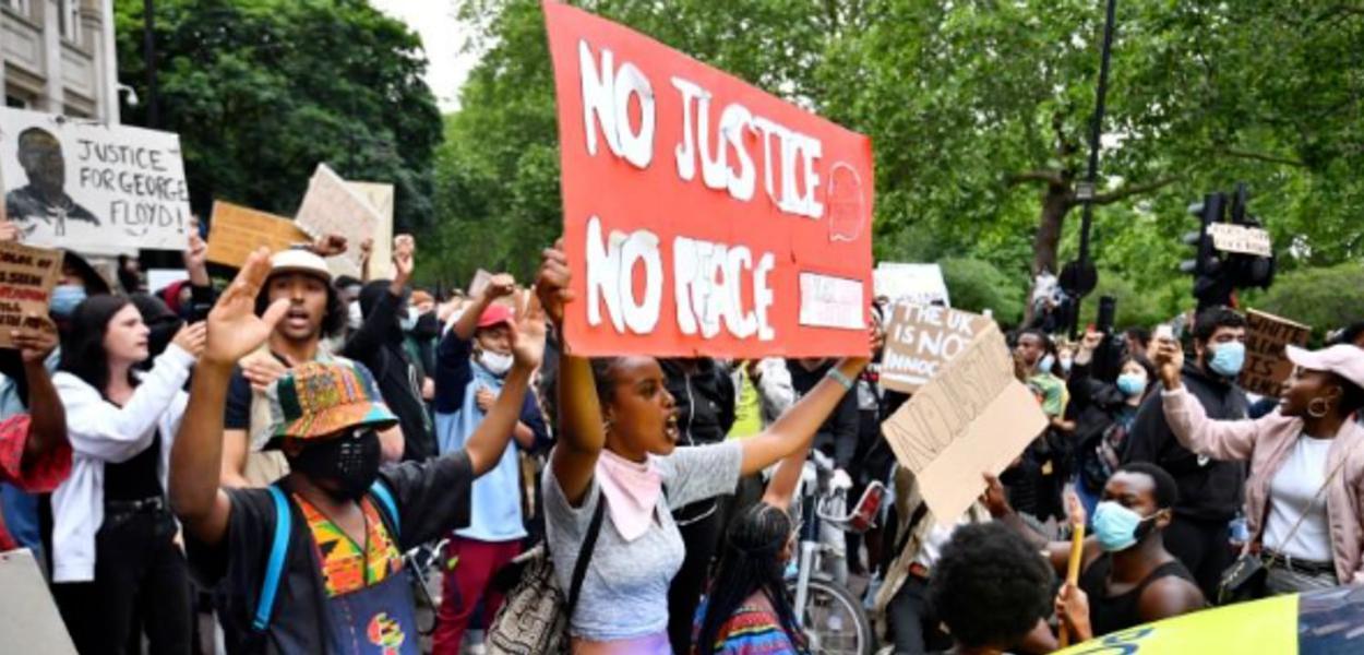 Protesto antirracista