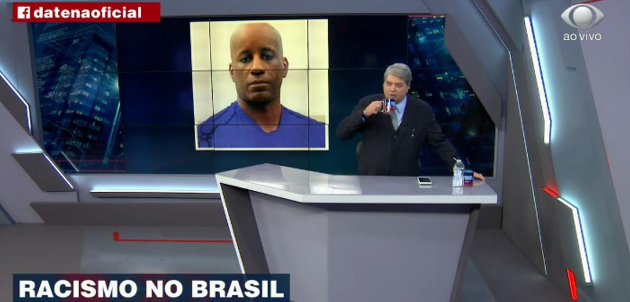Sérgio Camargo e Datena