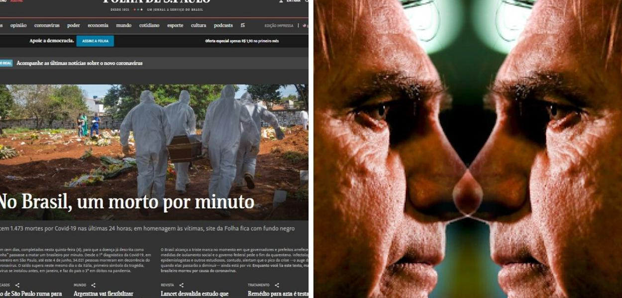 Folha de S. Paulo e Bolsonaro