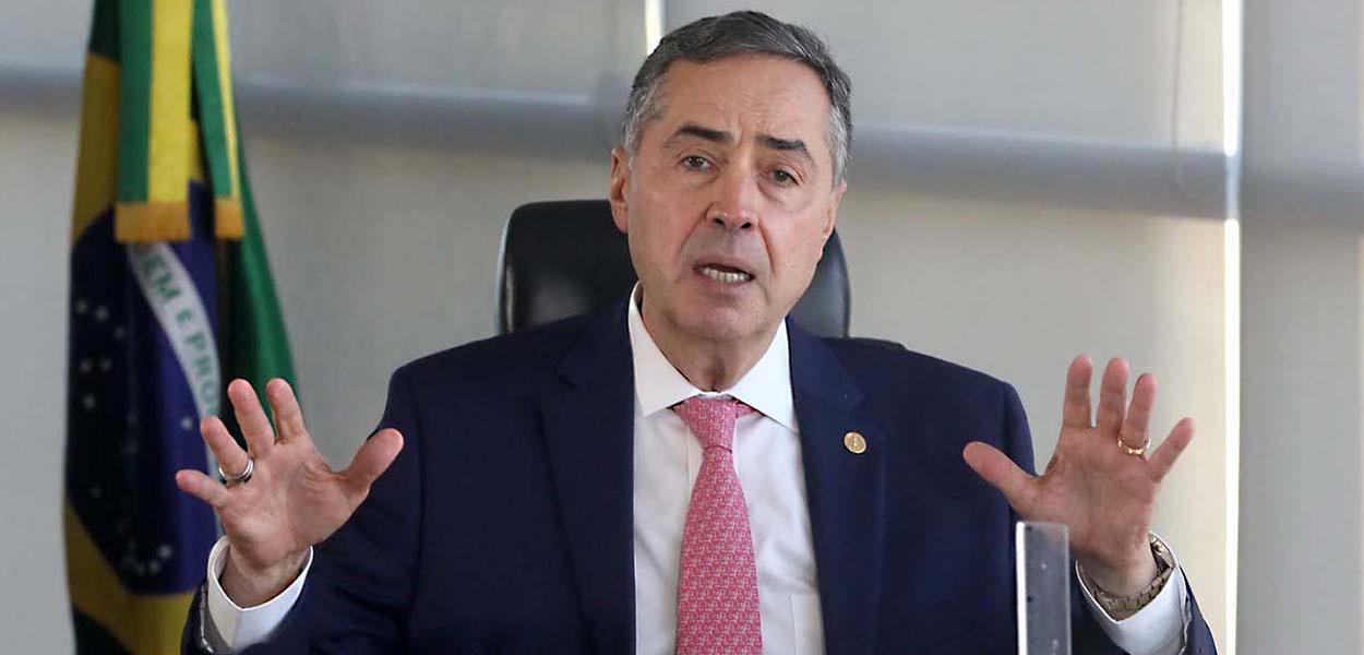 Ministro Luís Roberto Barroso, presidente do TSE