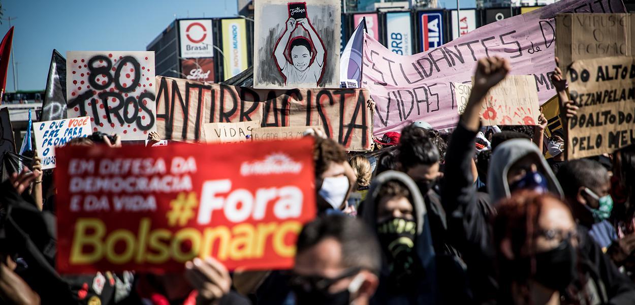 Ato Unificado Contra o Racismo e em Defesa da Democracia • 07/06/2020 • Brasília/DF