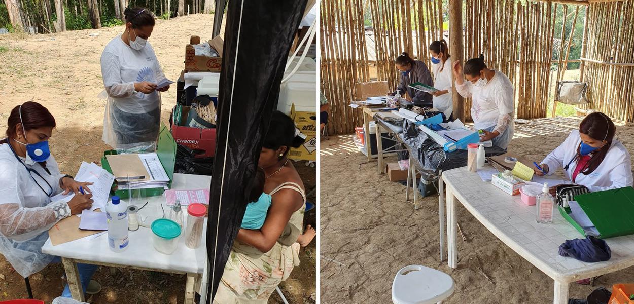 Médica atende indígenas de Miracatu (SP)