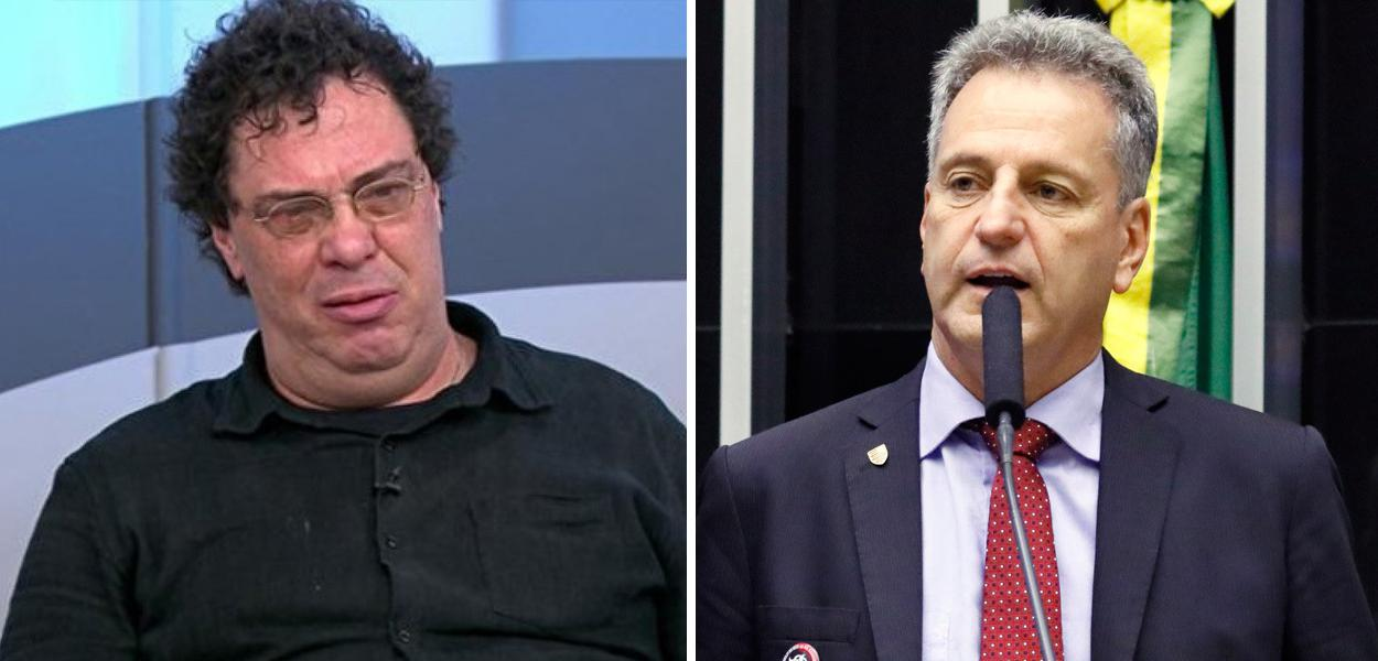 Walter Casagrande e Rodolfo Landim